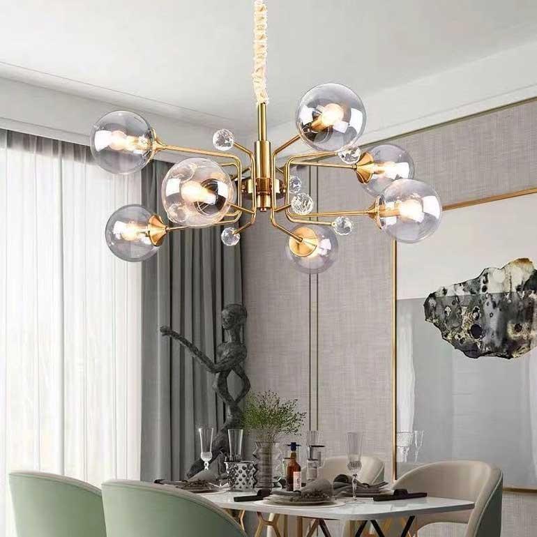 Đèn thả trang trí bàn ăn hiện đại
