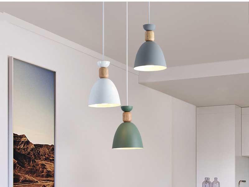 Đèn LED thả trần decor trang trí phòng khách nhỏ - Đèn thả trần