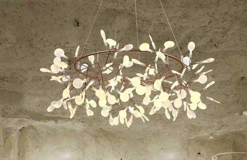 Đèn trang trí phòng khách thả trần - Đèn thả trần
