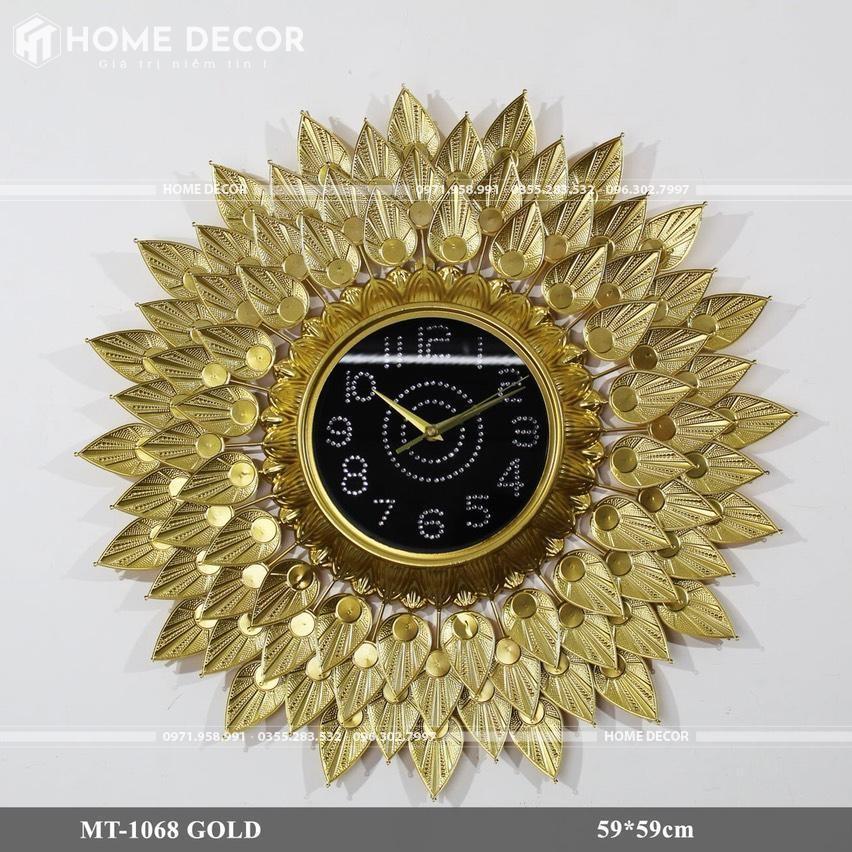 đồng hồ decor MT-1068 GOLD