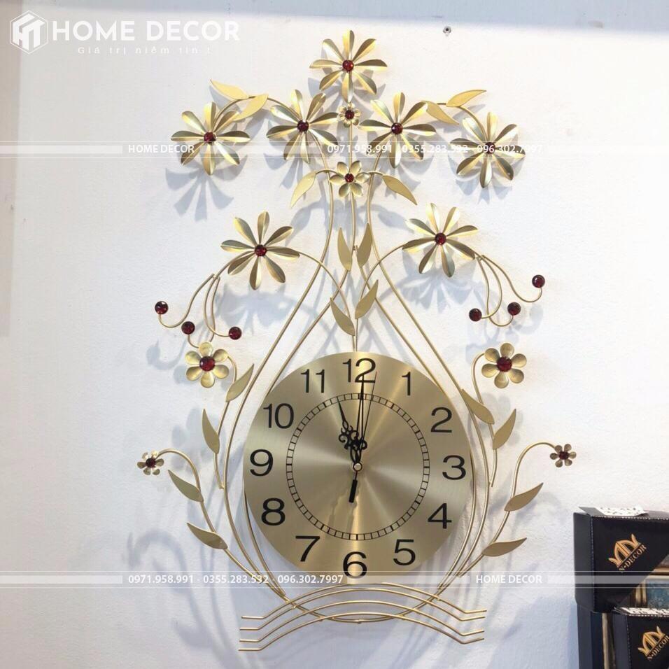 đồng hồ decor BH-1637 GOLD