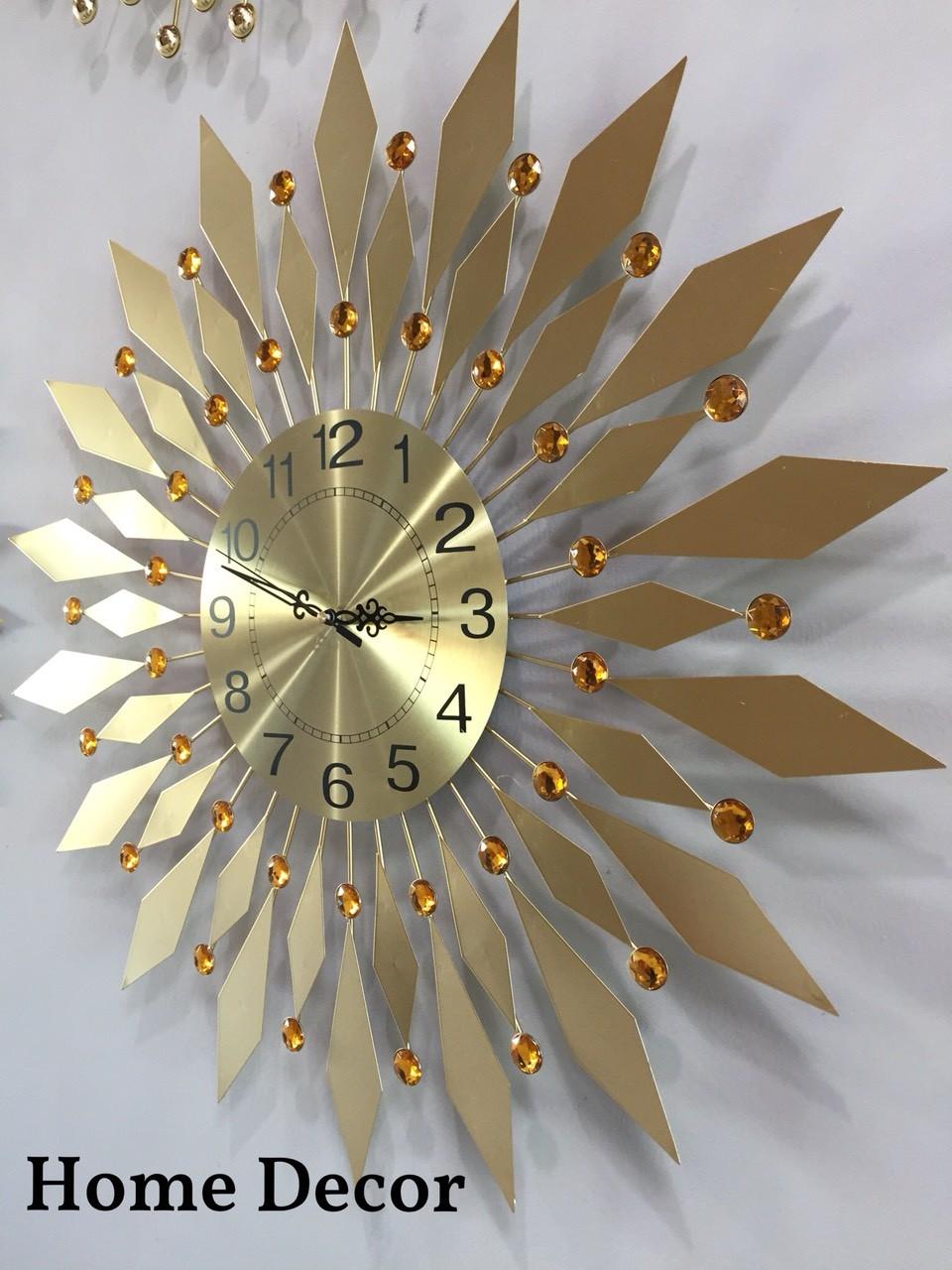 đồng hồ decor HT-1527 GOLD