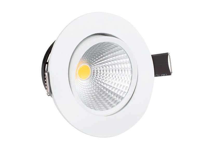 đèn led âm trần 3 màu 7w