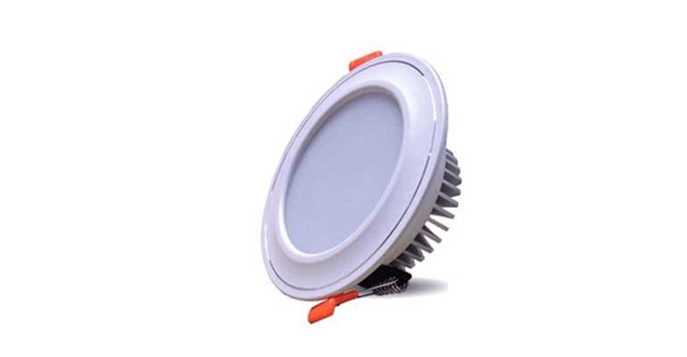 đèn led âm trần 7w 3 màu