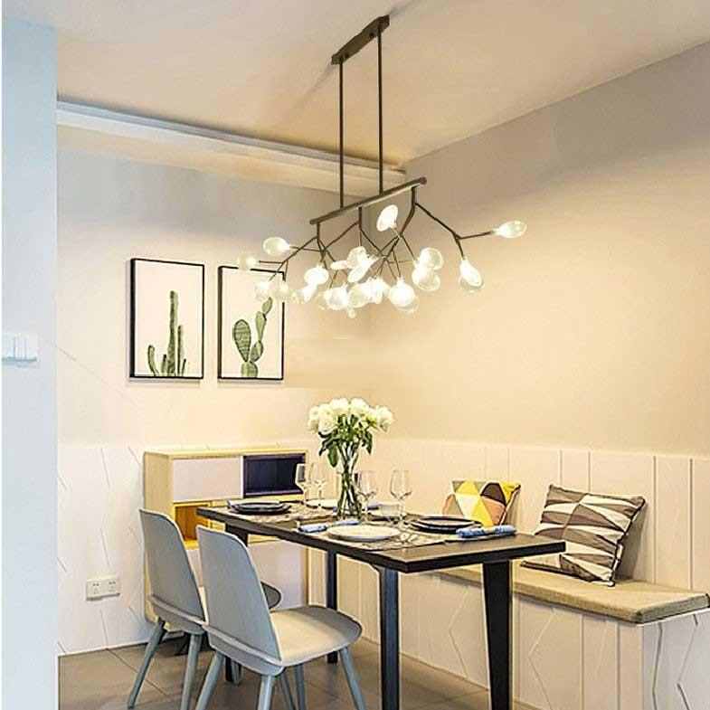 Mẫu đèn thả phòng bếp cao cấp, đèn thả bếp đẹp, đèn thả trần phòng bếp