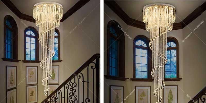 Đèn thả giếng trời - Đèn giếng trời cầu thang TTPL-20