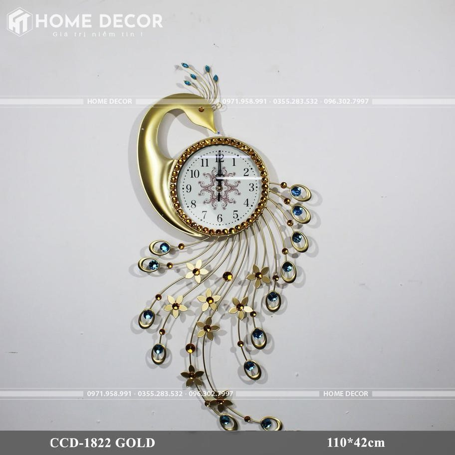 đồng hồ deocr HT-1822 GOLD
