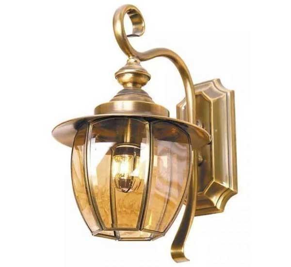 Đèn trang trí Đèn đồng kính HT-03