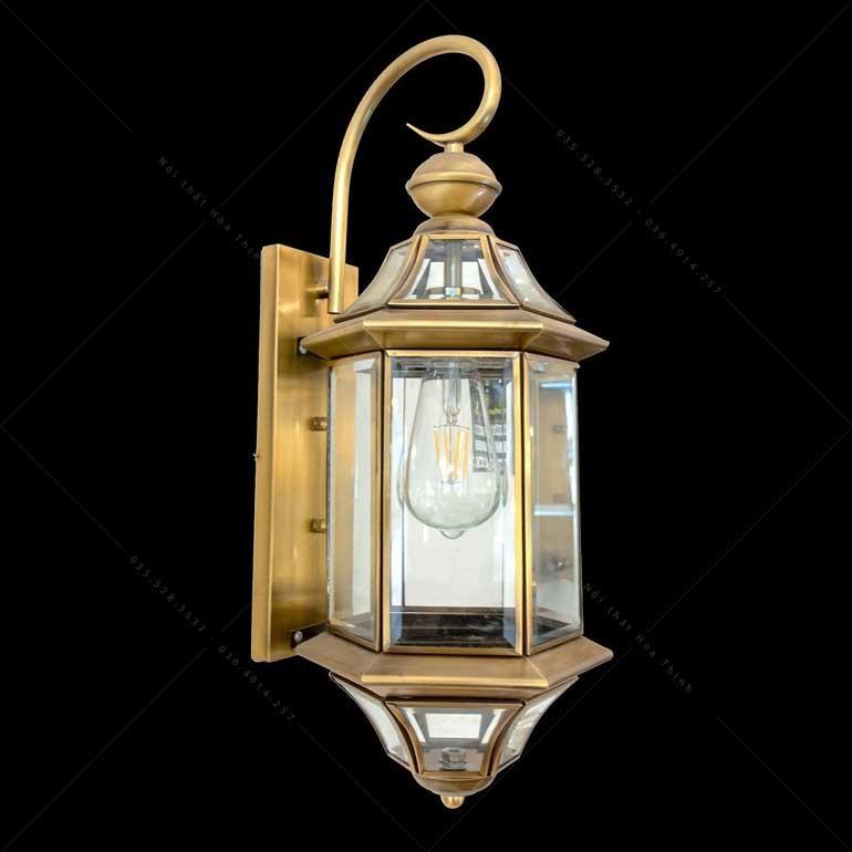 Đèn LED trang trí mặt tiền nhà cao cấp - Đèn trang trí mặt tiền nhà bằng đồng cao cấp HTML-B6015-1
