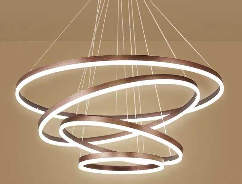 Đèn trang trí phòng khách chung cư LED cao cấp - Đèn LED trang trí phòng khách chung cư