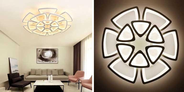 Mẫu đèn phòng khách chung cư giá rẻ - Đèn trang trí phòng khách chung