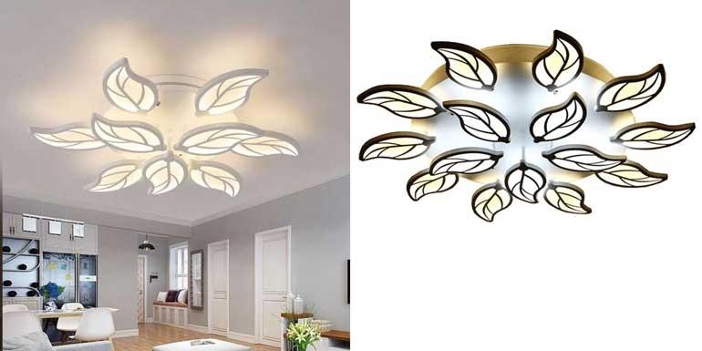 Đèn trang trí phòng khách chung cư đơn giản - Đèn LED trang trí phòng khách chung cư HT-16