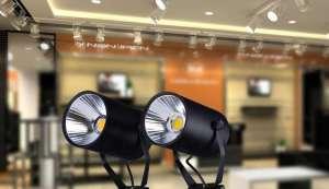 đèn trang trí shop quần áo
