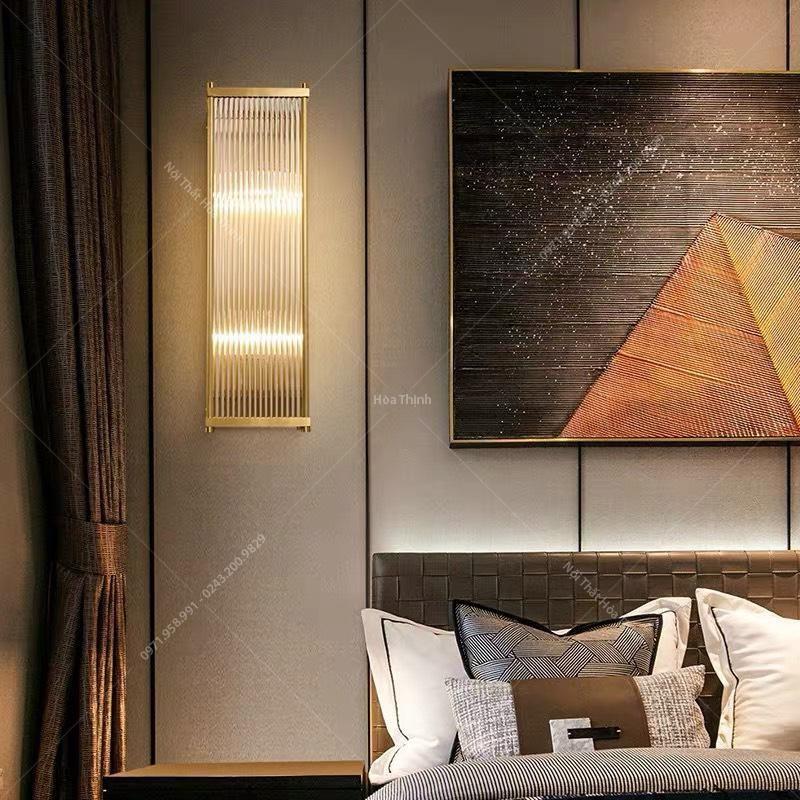 đèn trang trí tường phòng ngủ pha lê HTOT-12