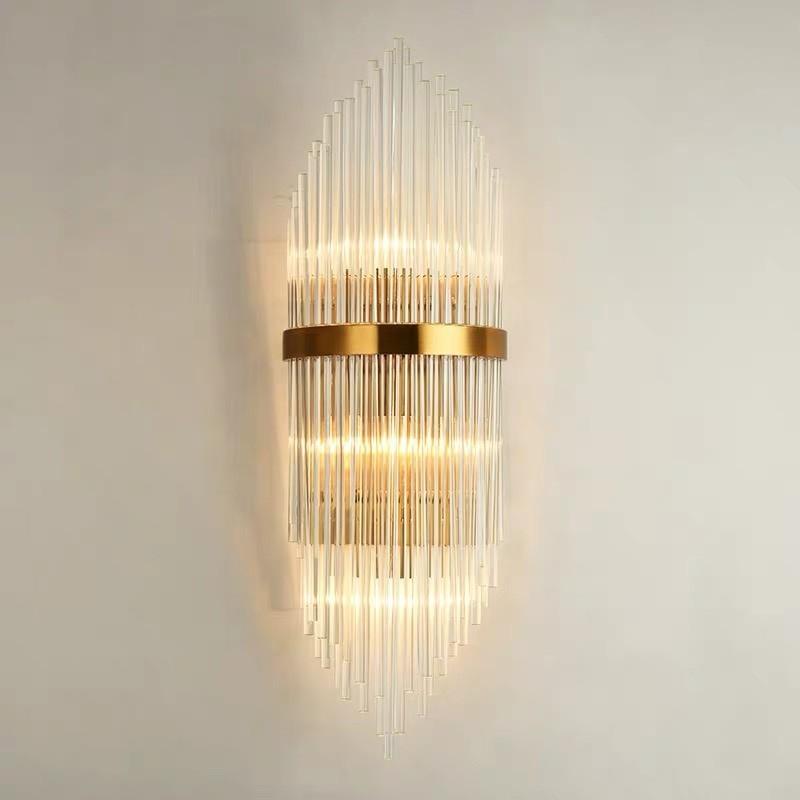 đèn trang trí tường pha lê HTOT-11