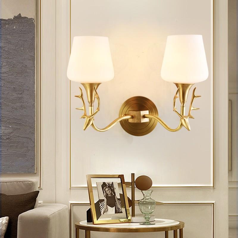 đèn trang trí tường phòng khách