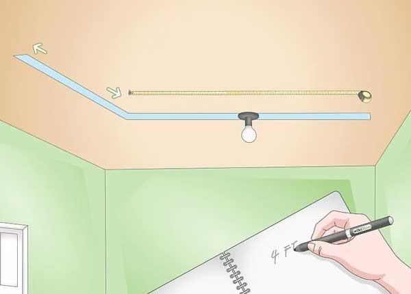 cách lắp đèn rọi ray