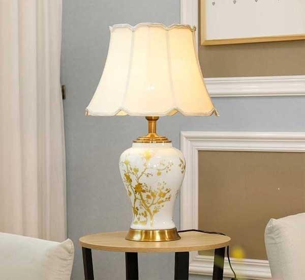 Mẫu đèn trang trí nội thất đẹp HT-40 - Đèn trang trí để bàn phòng ngủHT-40