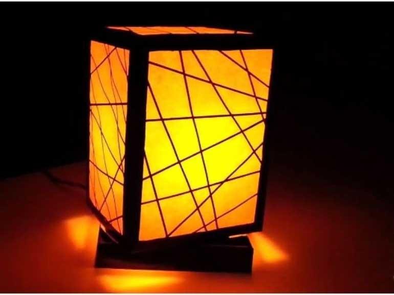 làm đèn trang trí