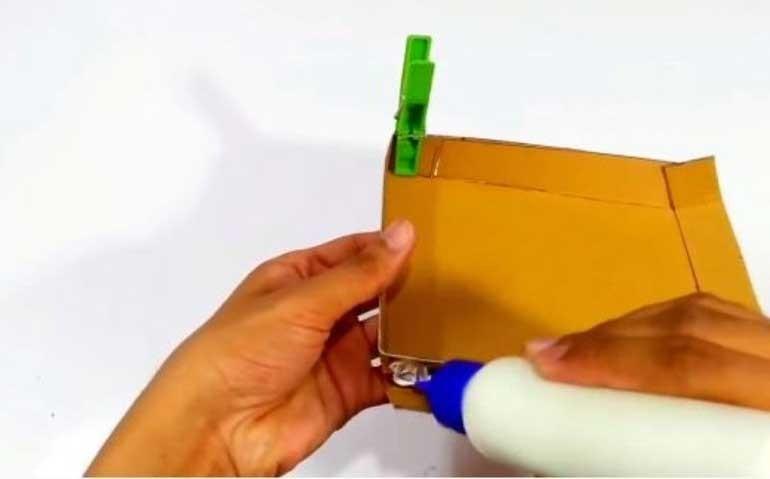 cách làm đèn trang trí bằng giấy