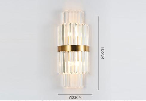 đèn tường LED pha lê HTOT-22