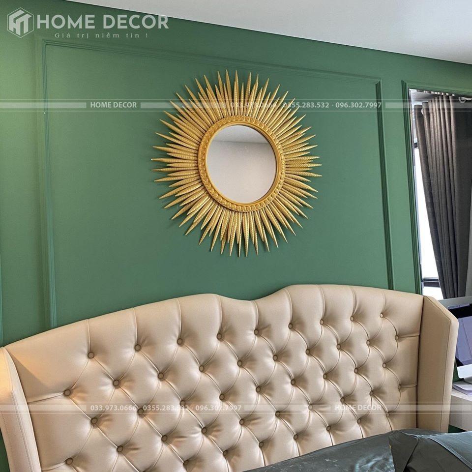 Gương Decor Mặt trời vàng GMT-90
