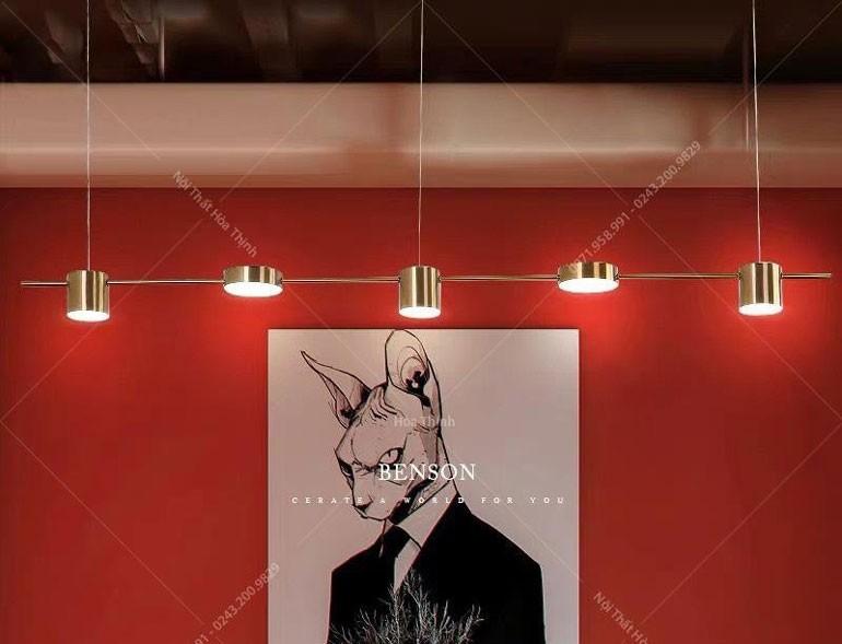 đèn trần shop quần áo