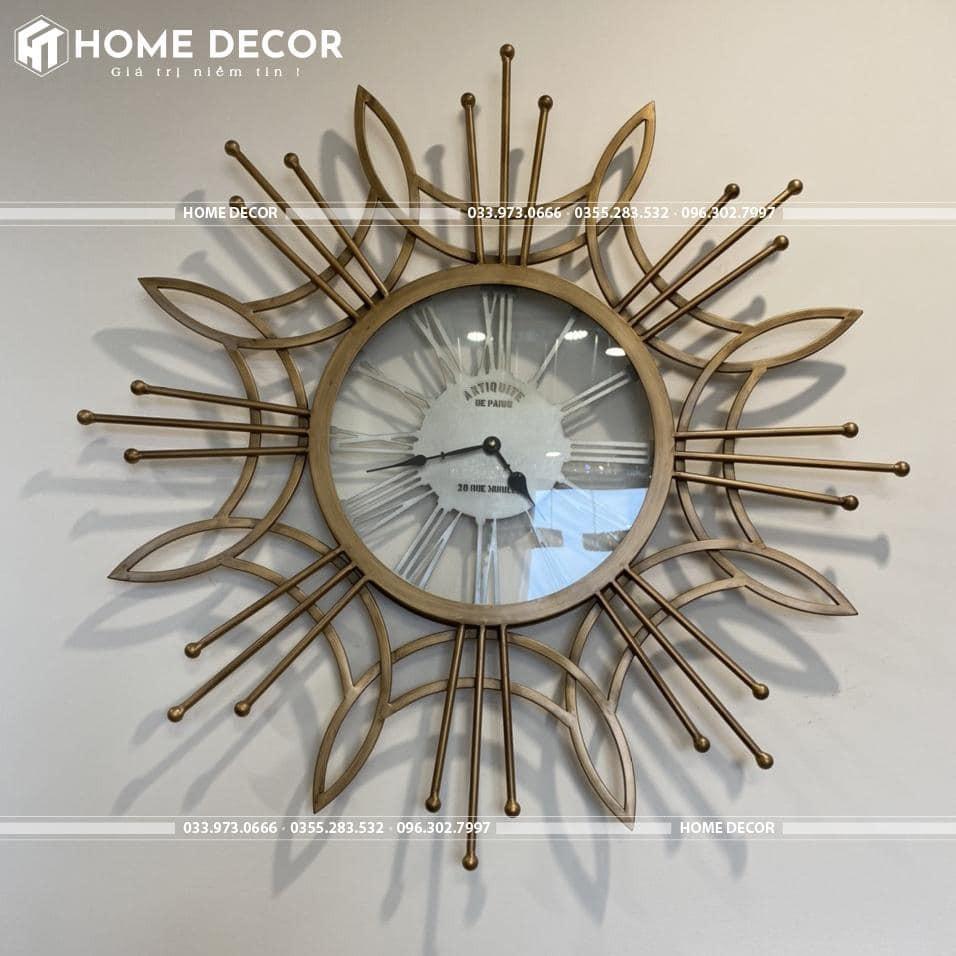 đồng hồ decor HTSDC-12