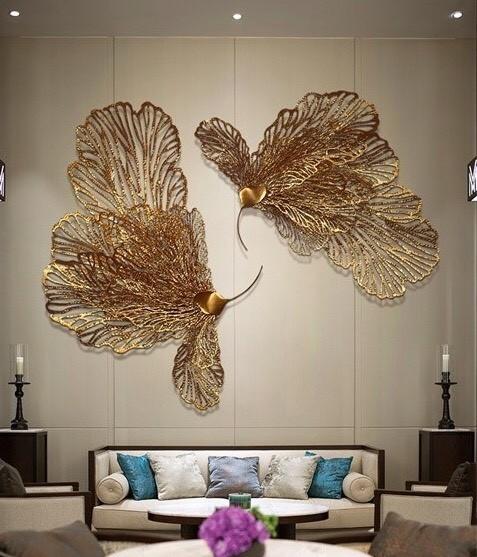 tranh decor Chim Khổng Tước HT-2030