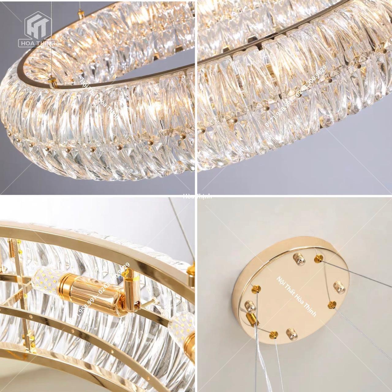 đèn chùm pha lê HTPl-94