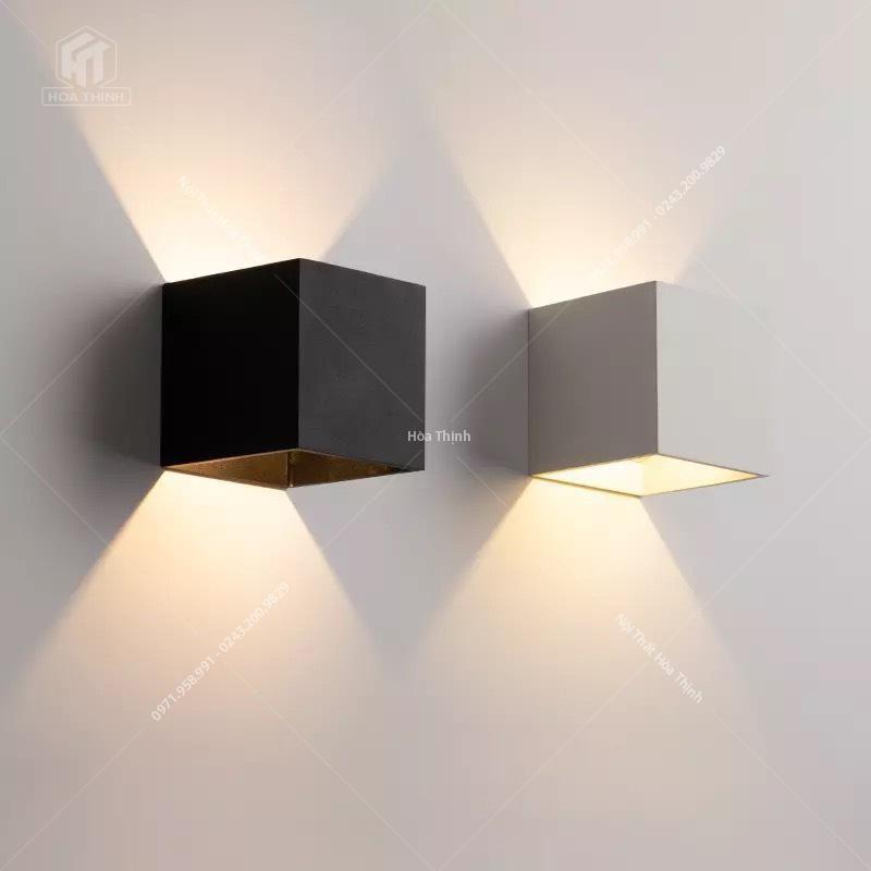 đèn treo tường hiện đại bằng gỗ