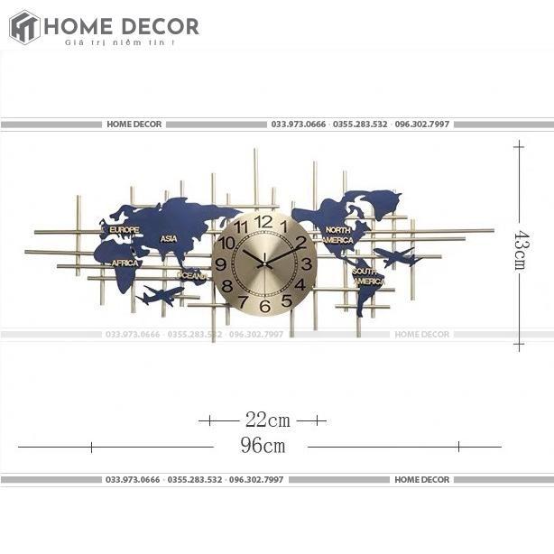 Đồng hồ decor HTSDH-A2115