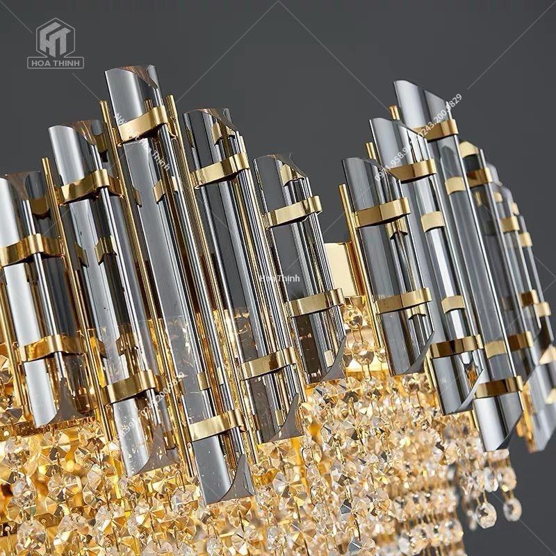 Đèn chùm pha lê HTPL-111 80cm