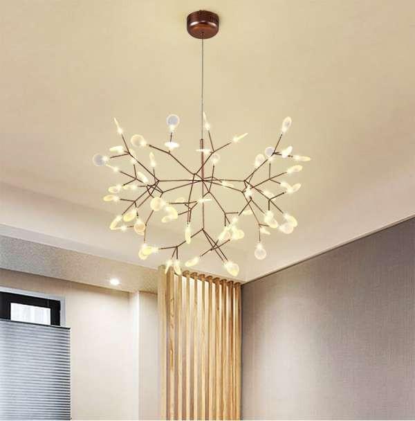 Đèn LED thả trần phòng khách - Đèn thả trần LED phòng khách - Đèn treo trần