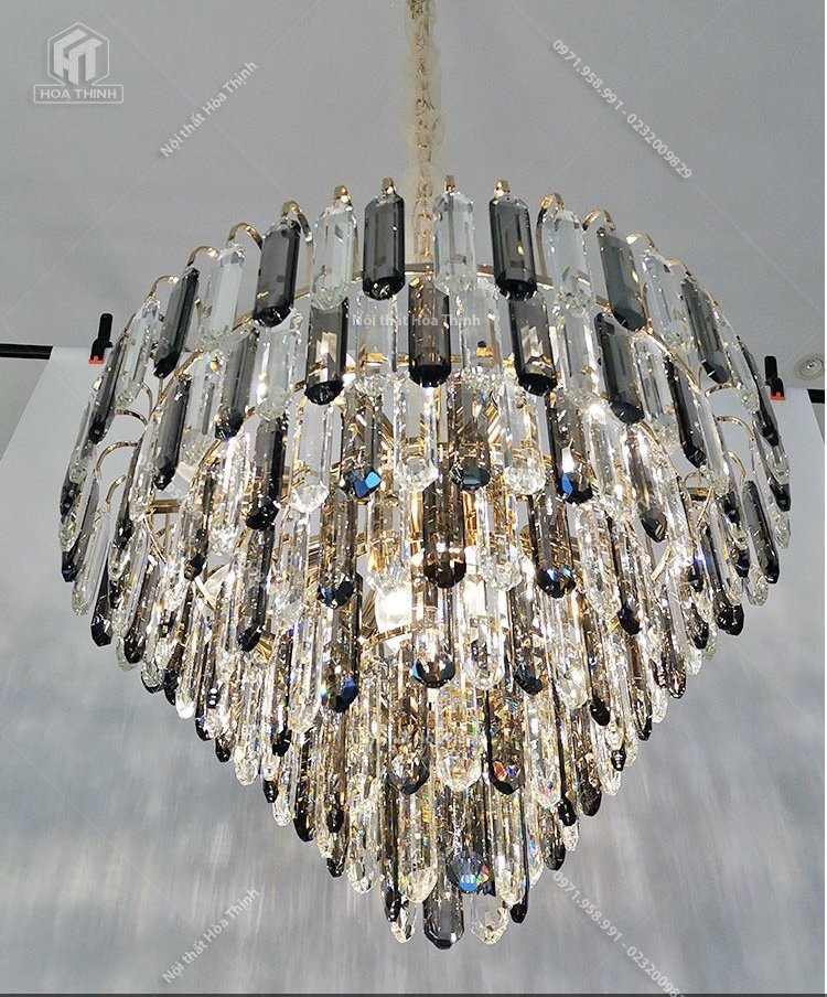 Đèn chùm pha lê HTPL-124