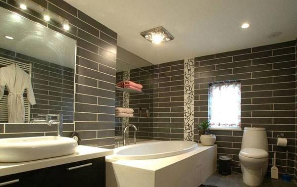 Đèn LED trần nhà vệ sinh chống nước - Đèn áp trần nhà tắm cao cấp