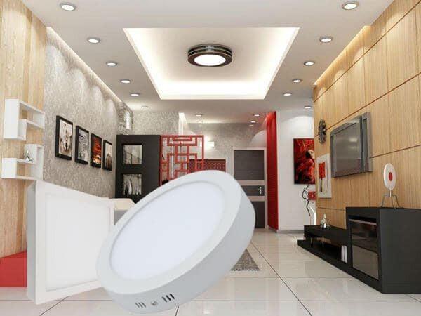 đèn ốp trần tròn trang trí văn phòng
