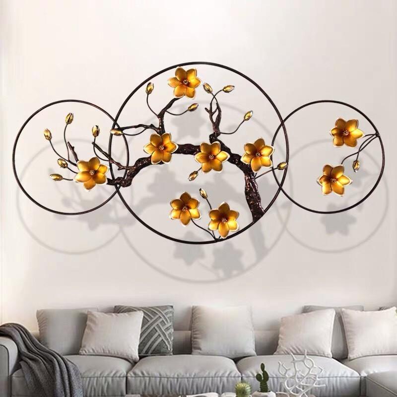tranh decor hoa mai vàng HTTDC-2103