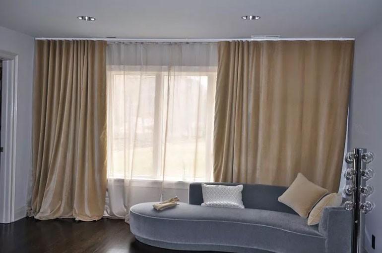 Sử dụng rèm cách nhiệt thay cho rèm vải thông thường
