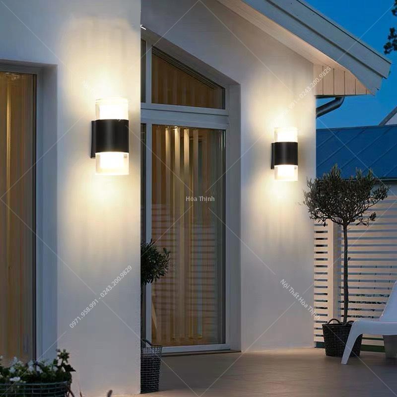 đèn hắt tường nhỏ gọn và dễ dàng lắp đặt