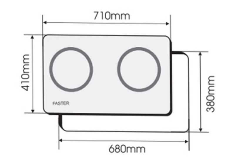 Đánh giá bếp từ Faster FS 788I