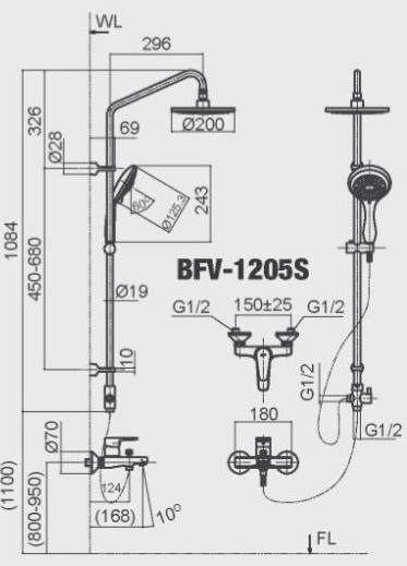ban-ve-sen-cay-inax-bfv-1205s-nong-lanh