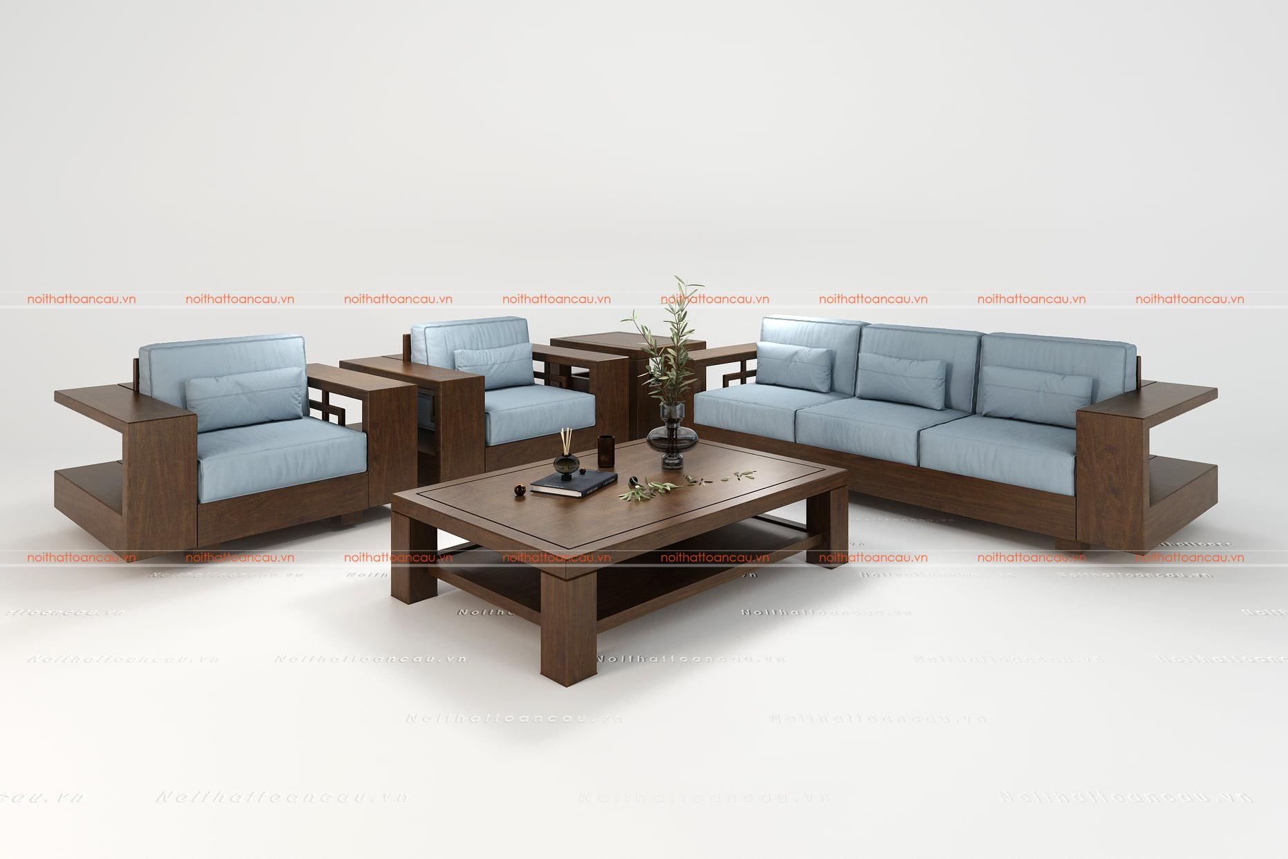 Bàn ghế gỗ gụ hiện đại  12