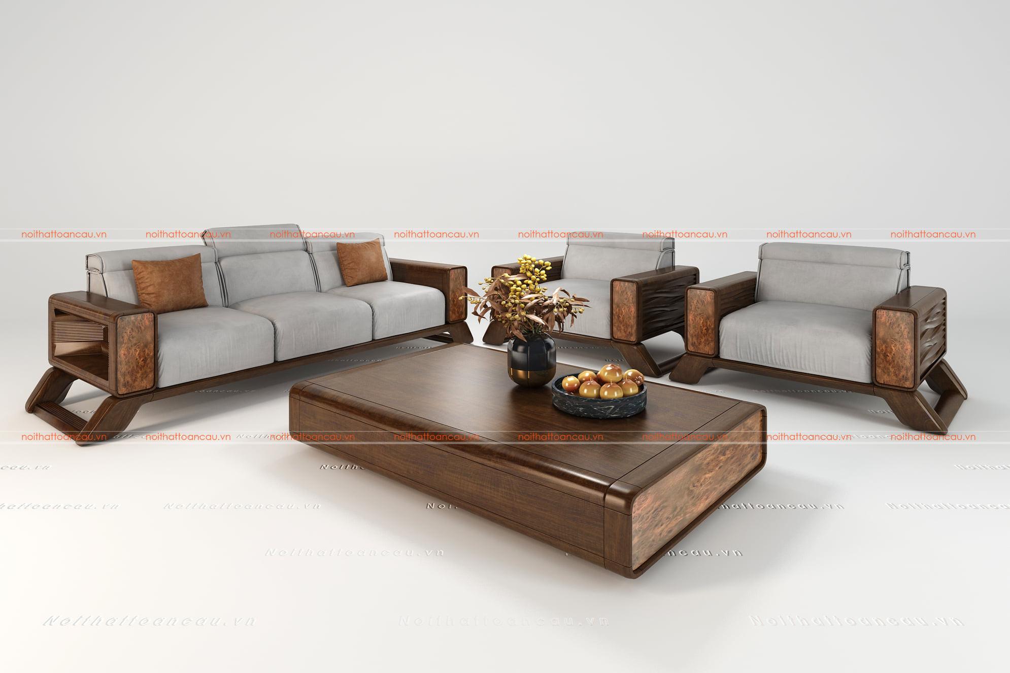Bàn ghế gỗ gụ hiện đại 7