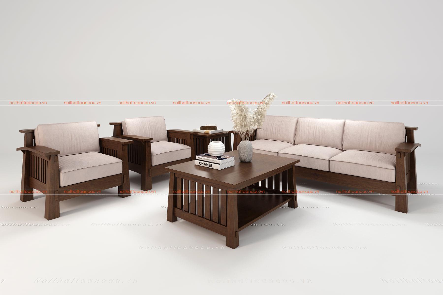 Bàn ghế gỗ gụ hiện đại  15