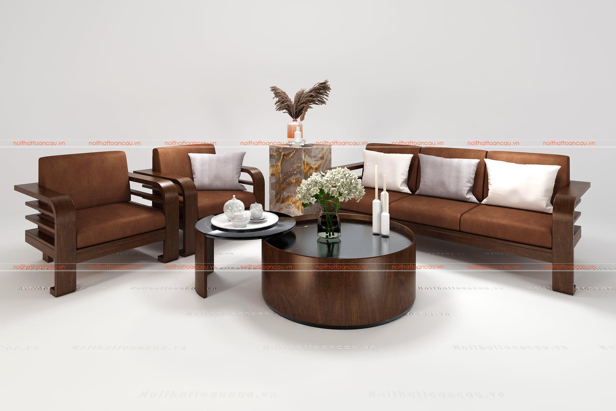 Bàn ghế gỗ gụ hiện đại  8