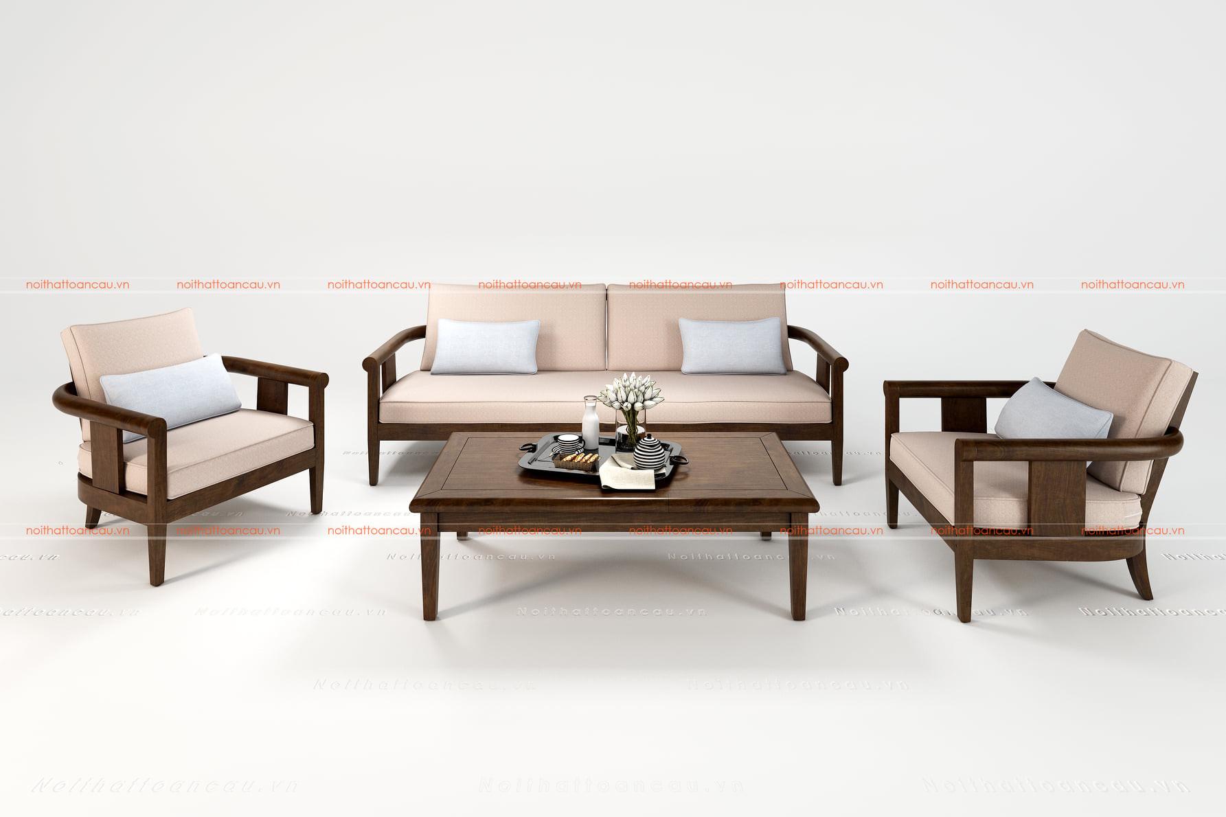 Bàn ghế gỗ gụ hiện đại 13