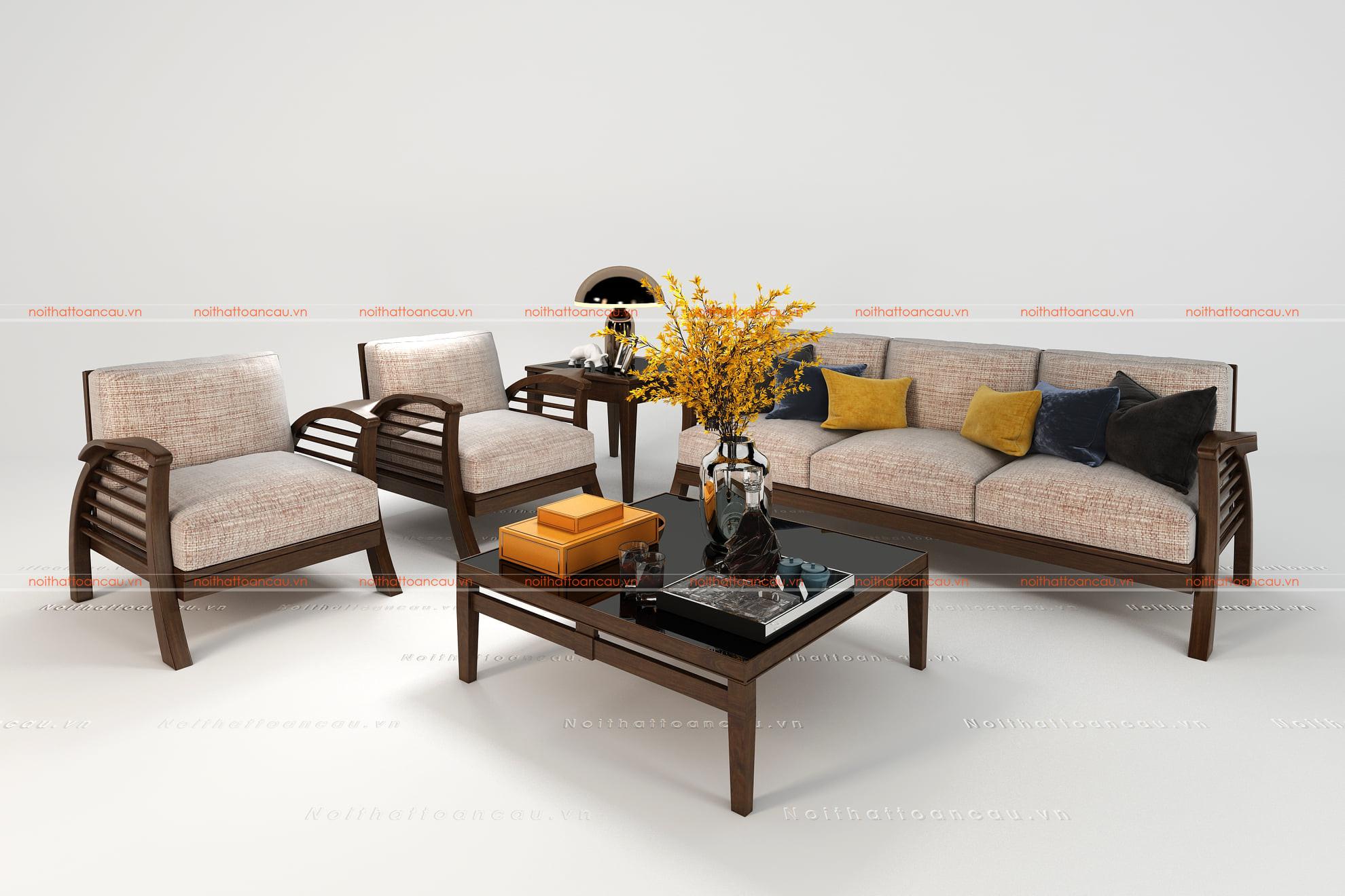 Bàn ghế gỗ gụ hiện đại  4