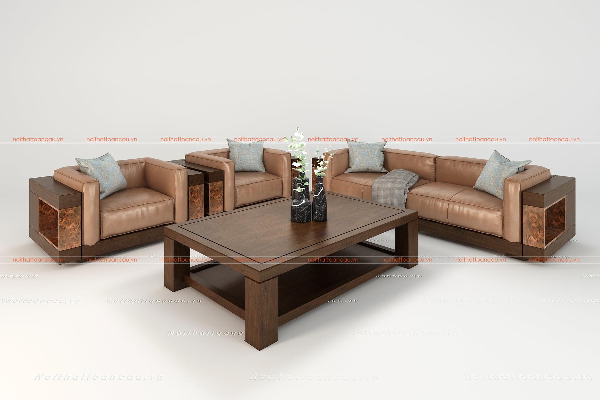 Bàn ghế gỗ gụ hiện đại  6