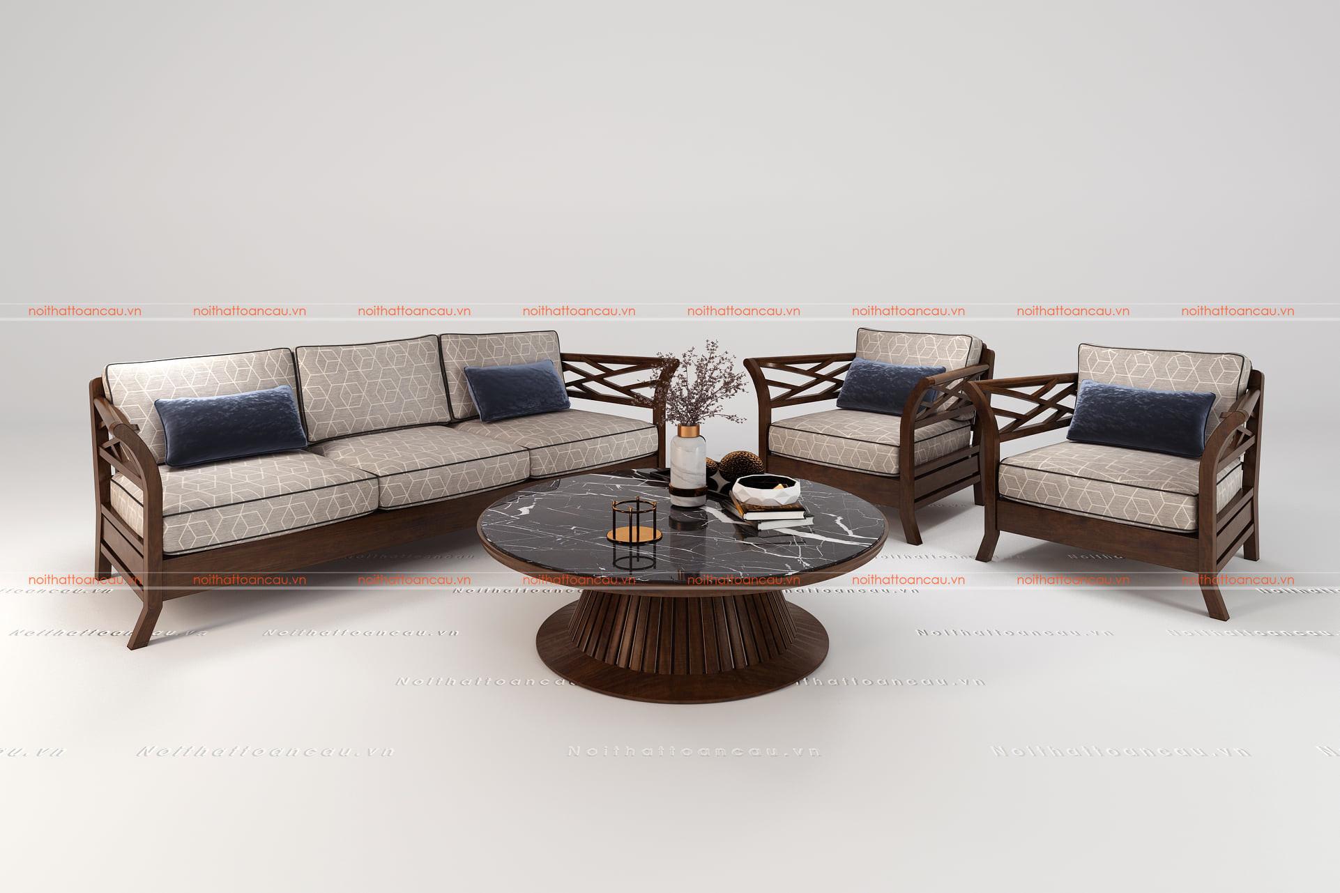 Bàn ghế gỗ gụ hiện đại  5